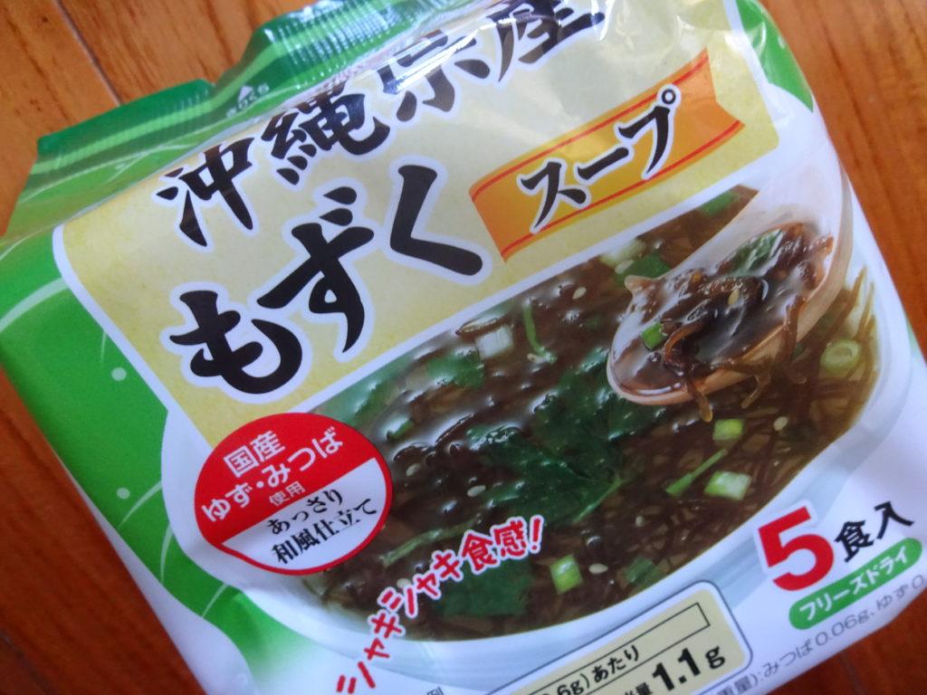コープ 沖縄産もずくスープ
